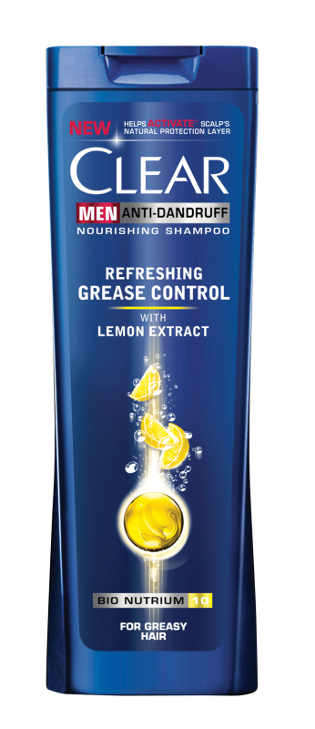 Шампоан Clear Men Refreshing Grease Control
