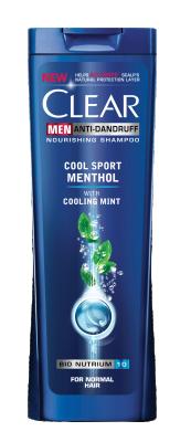 Шампоан Clear Men Cool Sport Mentol