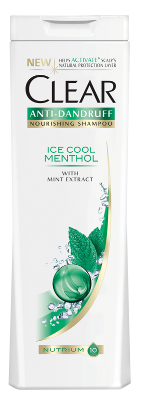 Шампоан Clear Women Ice cool menthol