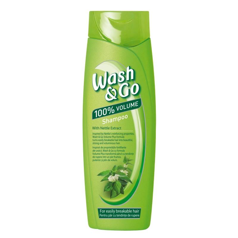 Шампоан за коса Wash & Go коприва