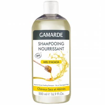 Органичен подхранващ шампоан GAMARDE с акациев мед