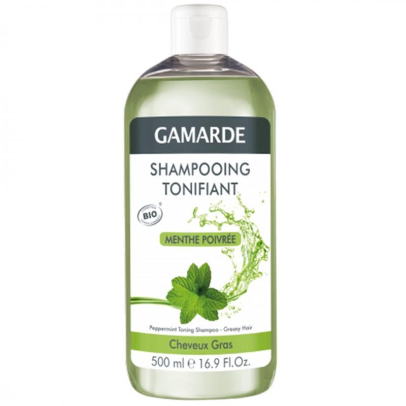 Органичен тонизиращ шампоан GAMARDE мента