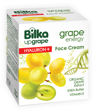 Крем за лице Hyaluron+ Bilka Grape Energy