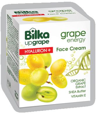 Крем за лице Hyaluron+ Bilka Grape Energy