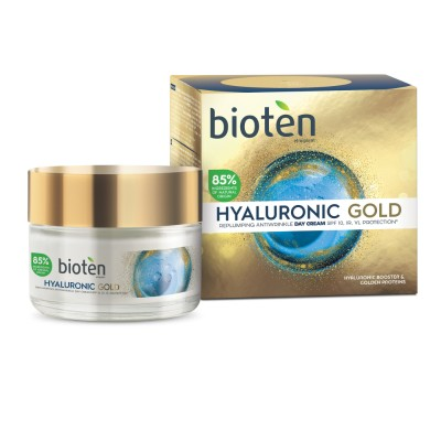 Дневен крем за лице Bioten Hyaluronic gold