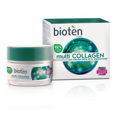 Дневен крем за лице Bioten Multi collagen  SPF 10
