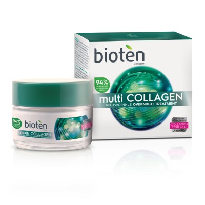 Нощен крем за лице Bioten Multi collagen