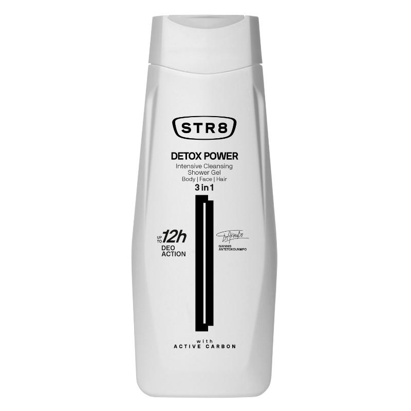 Мъжки душ гел 3 в 1 STR8 Detox power