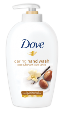 Течен крем сапун Dove Shea butter