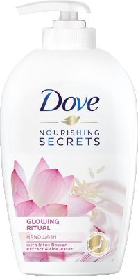 Течен сапун Dove Glowing ritual