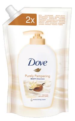 Течен сапун Dove Shea butter пълнител