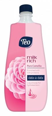 Течен сапун Teo Milk Rich Камелия Пълнител