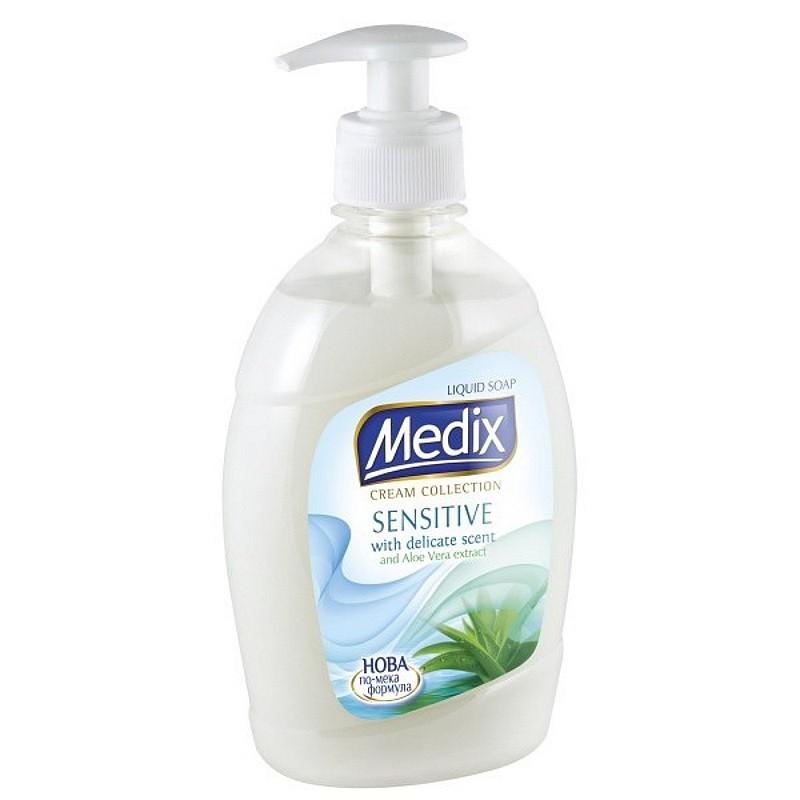 Течен сапун Medix Cream Collection Sensitive