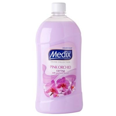 Течен сапун Medix Cream collection Pink orchid пълнител