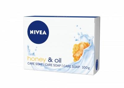 Сапун Nivea honey & oil