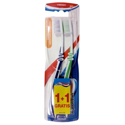 Четка за зъби Aquafresh Clean & Flex medium