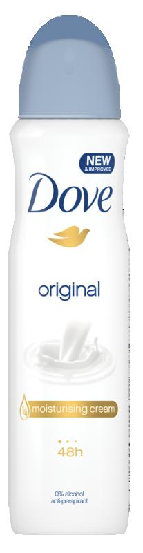 Део спрей против изпотяване Dove Original