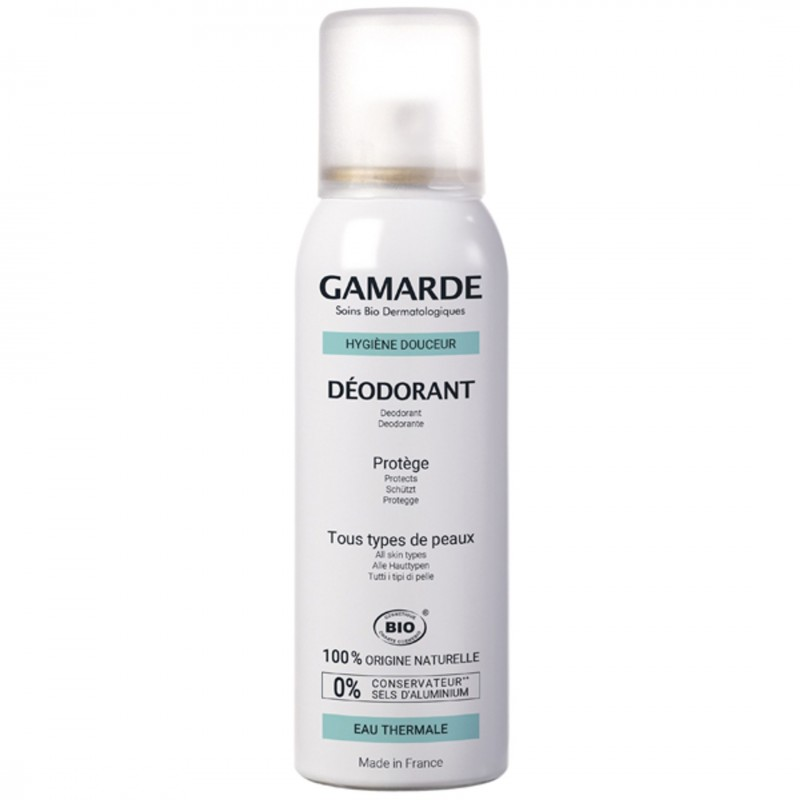 Органичен дезодорант GAMARDE дермозащитен