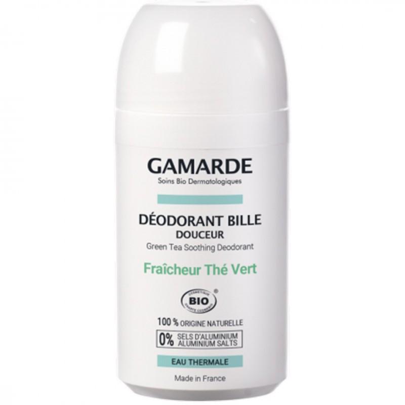 Органичен дезодорант рол-он GAMARDE зелен чай