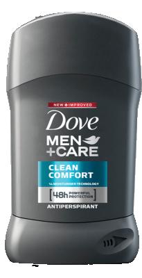Део Стик Dove против изпотяване Men+Care Clean Comfort