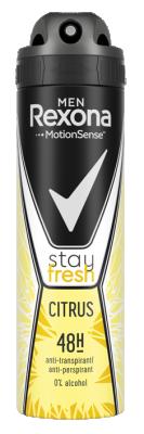 Део Спрей Rexona против изпотяване Men Citrus Fresh