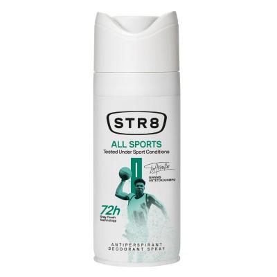 Дезодорант спрей против изпотяване STR8 All sports
