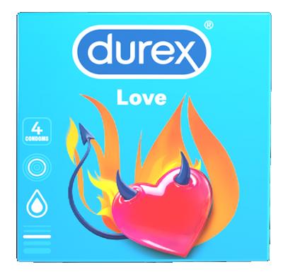 Презервативи Durex Love