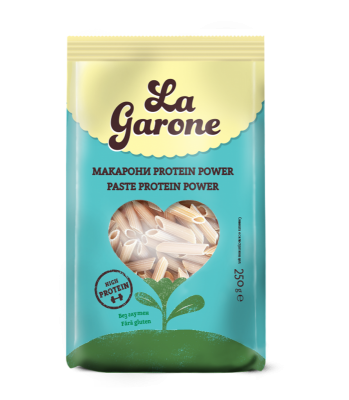 Макарони Protein Power БЕЗ ГЛУТЕН La Garone