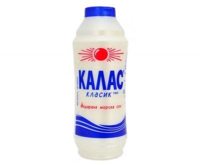 Морска сол Kalas йодирана лека