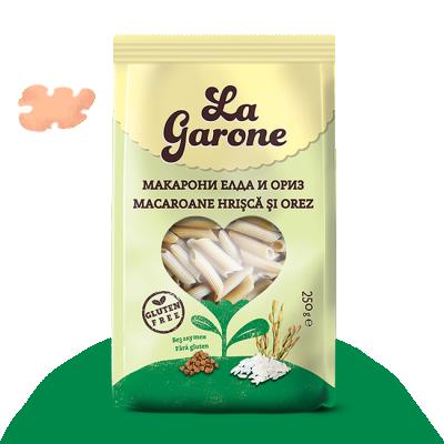 Макарони Елда и ориз БЕЗ ГЛУТЕН La Garone