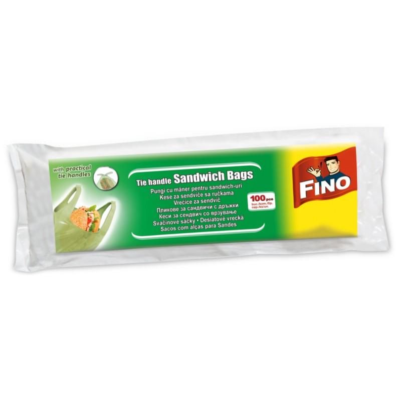 Пликове за сандвичи Fino с дръжки