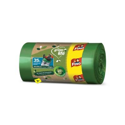 Торби за смет Fino green life easy-pack 35л