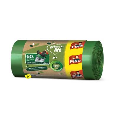 Торби за смет Fino green life easy-pack 60л