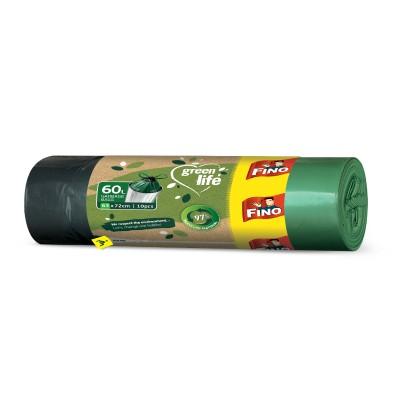 Торби за смет Fino green life с връзки 60л