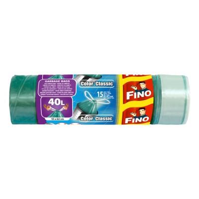 Торби за смет Fino color с дръжки 40л