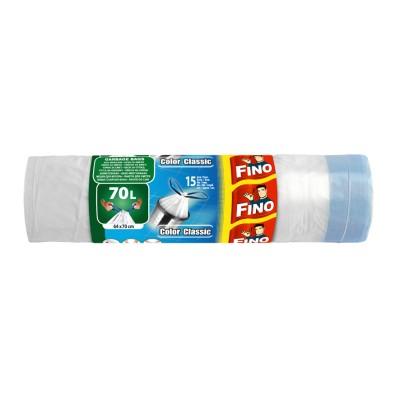 Торби за смет Fino color с дръжки 70л