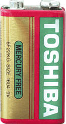 Toshiba батерии (6F22U) 9V