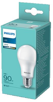 Philips LED крушка 13W=90W E27 3000К
