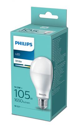 Philips LED крушка 14.5W=105W Е27 3000К