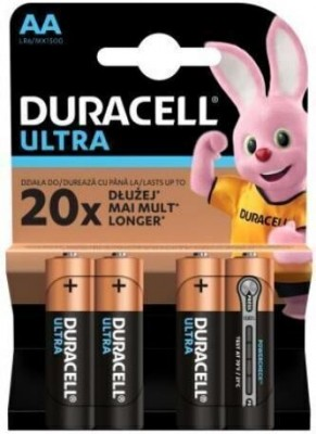 Алкални батерии Duracell Basic АА