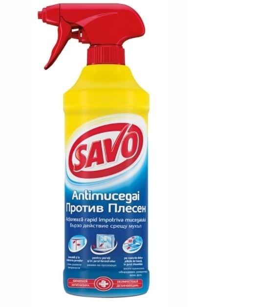 Универсален спрей за мухъл и плесен Savo