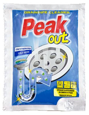 Peak Out препарат за отпушване на канали със студена вода