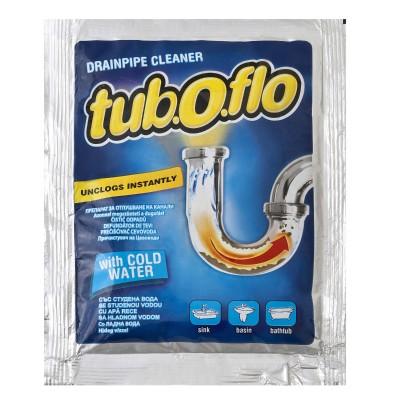 Препарат за отпушване на канали Tub.O.flo за студена вода