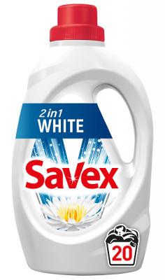 Течен перилен препарат Savex 2in1 White