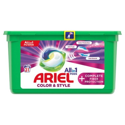 Капсули за пране Ariel Color & Style