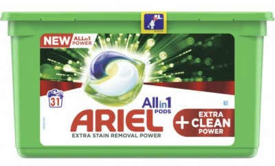 Капсули за пране Ariel Extra clean power