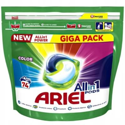 Капсули за пране Ariel Color Giga pack