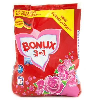 Прах за ръчно пране BONUX 3in1 Роза