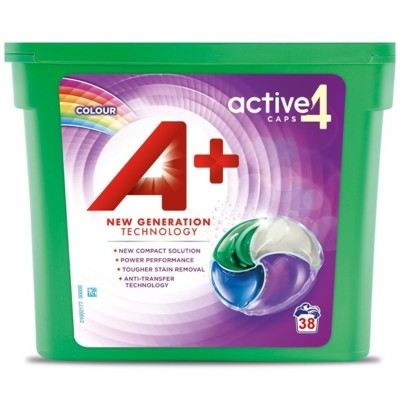 Капсули за пране А+ activ 4 color