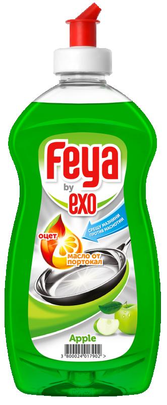 Препарат за съдове гел Feya ябълка